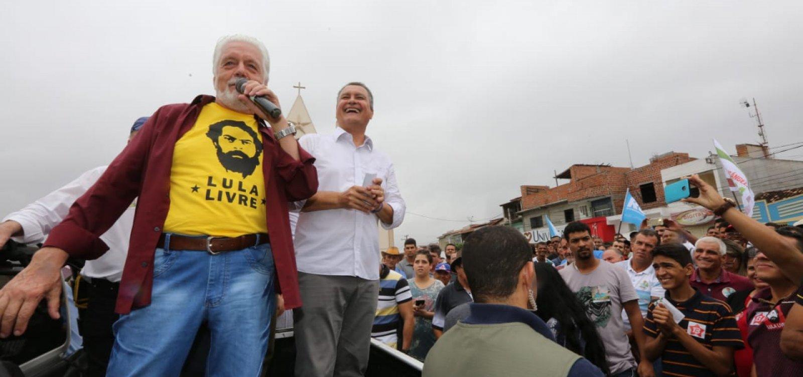 'Prefiro nem pronunciar o nome dele', afirma Wagner sobre Bolsonaro