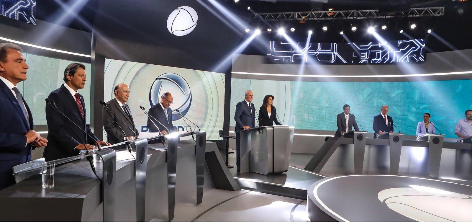 Datafolha aponta Bolsonaro com 35% e Haddad com 22%