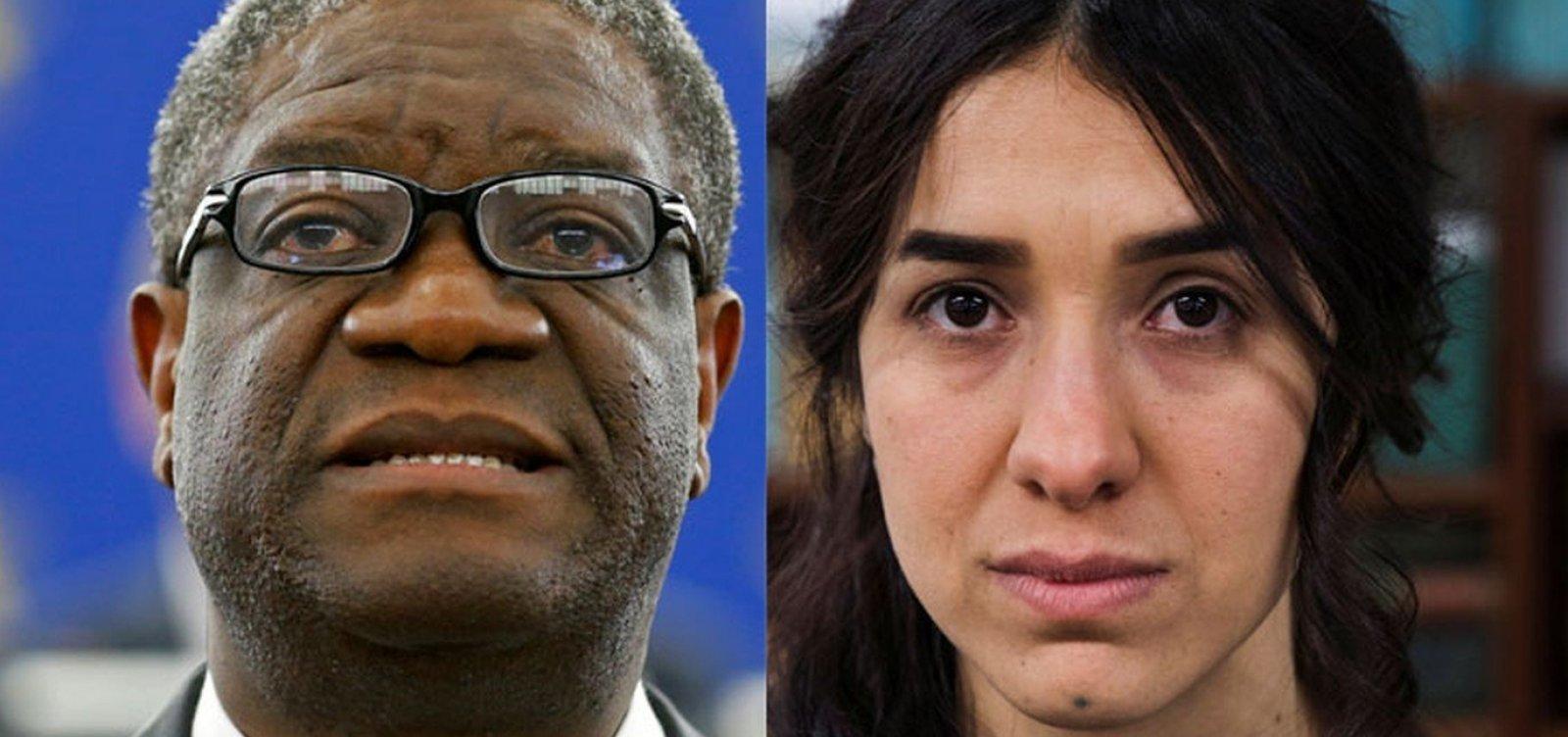 Ex-escrava sexual e ginecologista ganham Nobel da Paz 2018