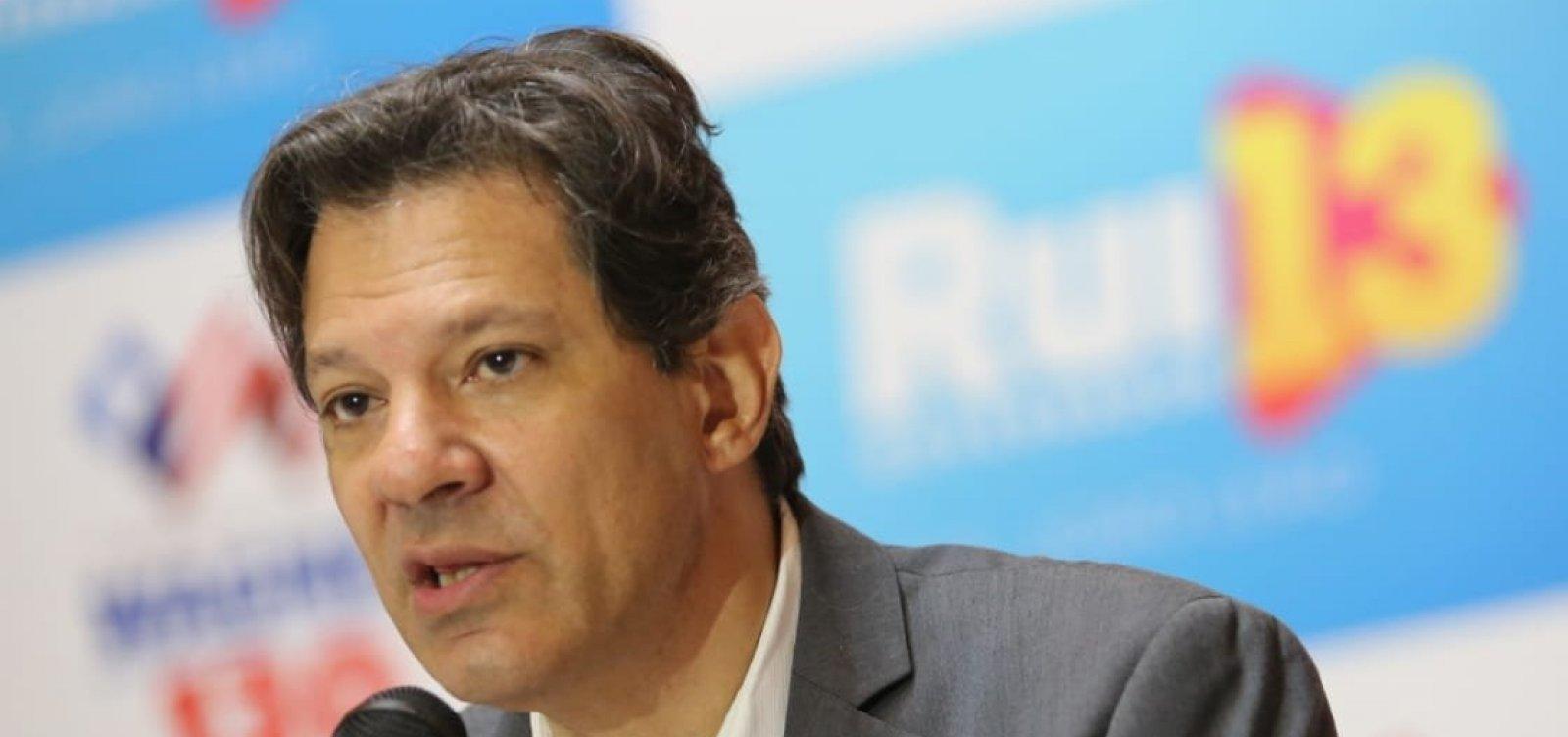 PT denuncia no TSE Fake News contra Haddad