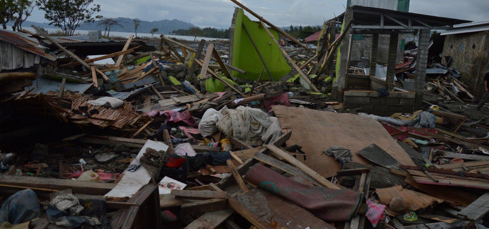 Indonésia tem mais de 1,5 mil mortos após terremoto e tsunami