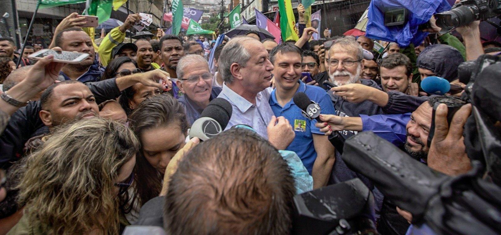 'Nunca mais quero pisar nesse lugar', diz Ciro Gomes sobre Globo