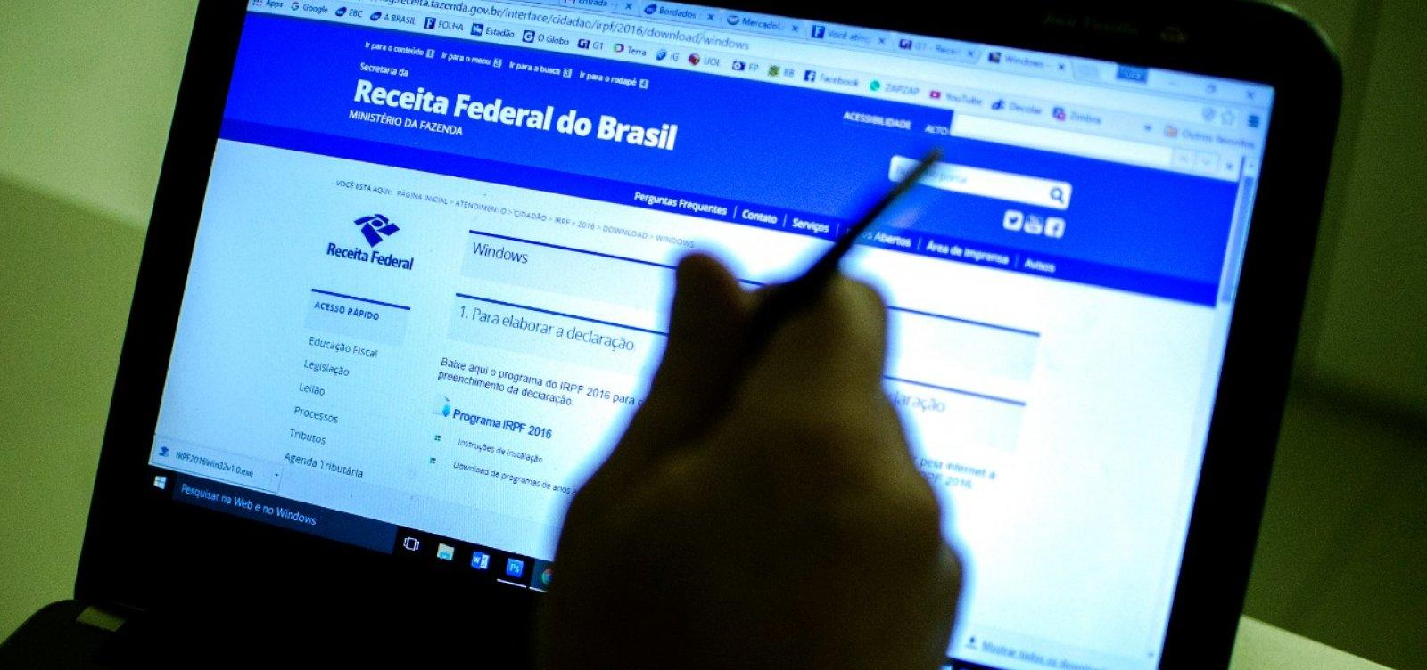 Imposto de Renda 2018: consulta ao 5º lote já está aberta; restituições somam R$ 3,15 bi