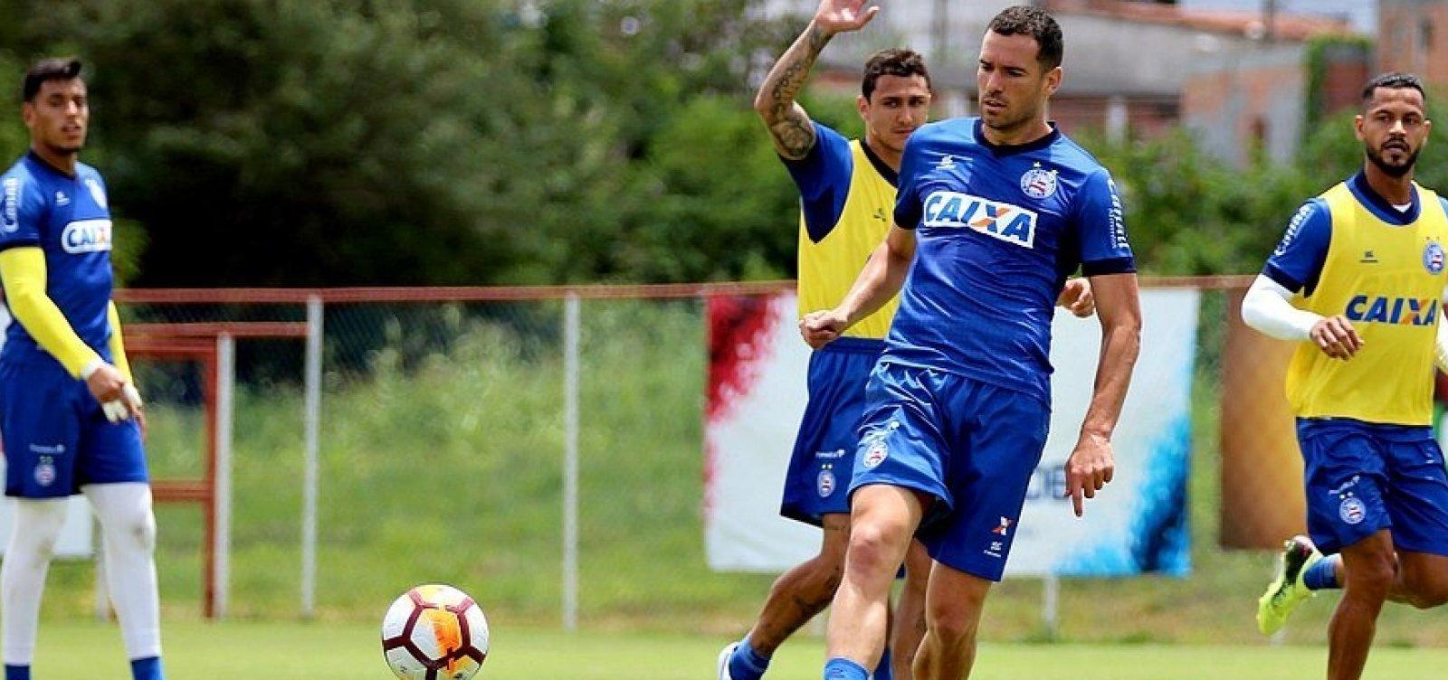 Bahia deve entrar em campo contra o Grêmio com nova zaga