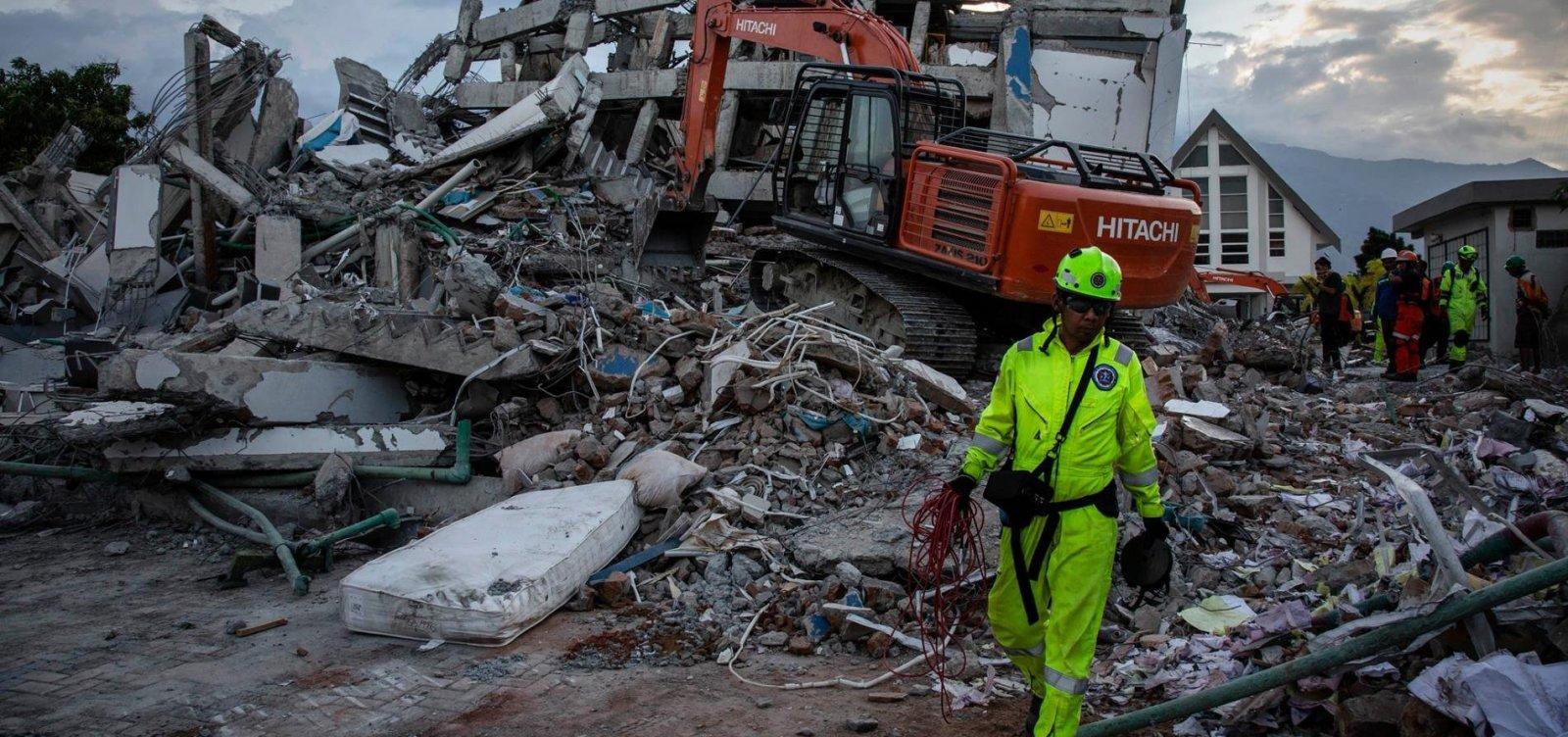 Governo da Indonésia pondera transformar áreas devastadas em cemitérios