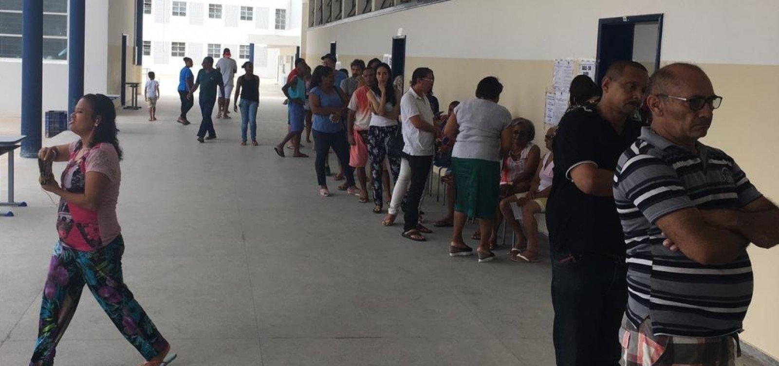 Mais de 10 milhões de baianos irão às urnas hoje