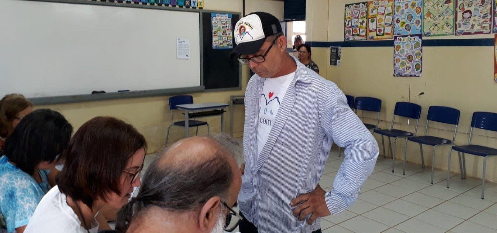 Primeiro eleitor do país votou em Fernando de Noronha