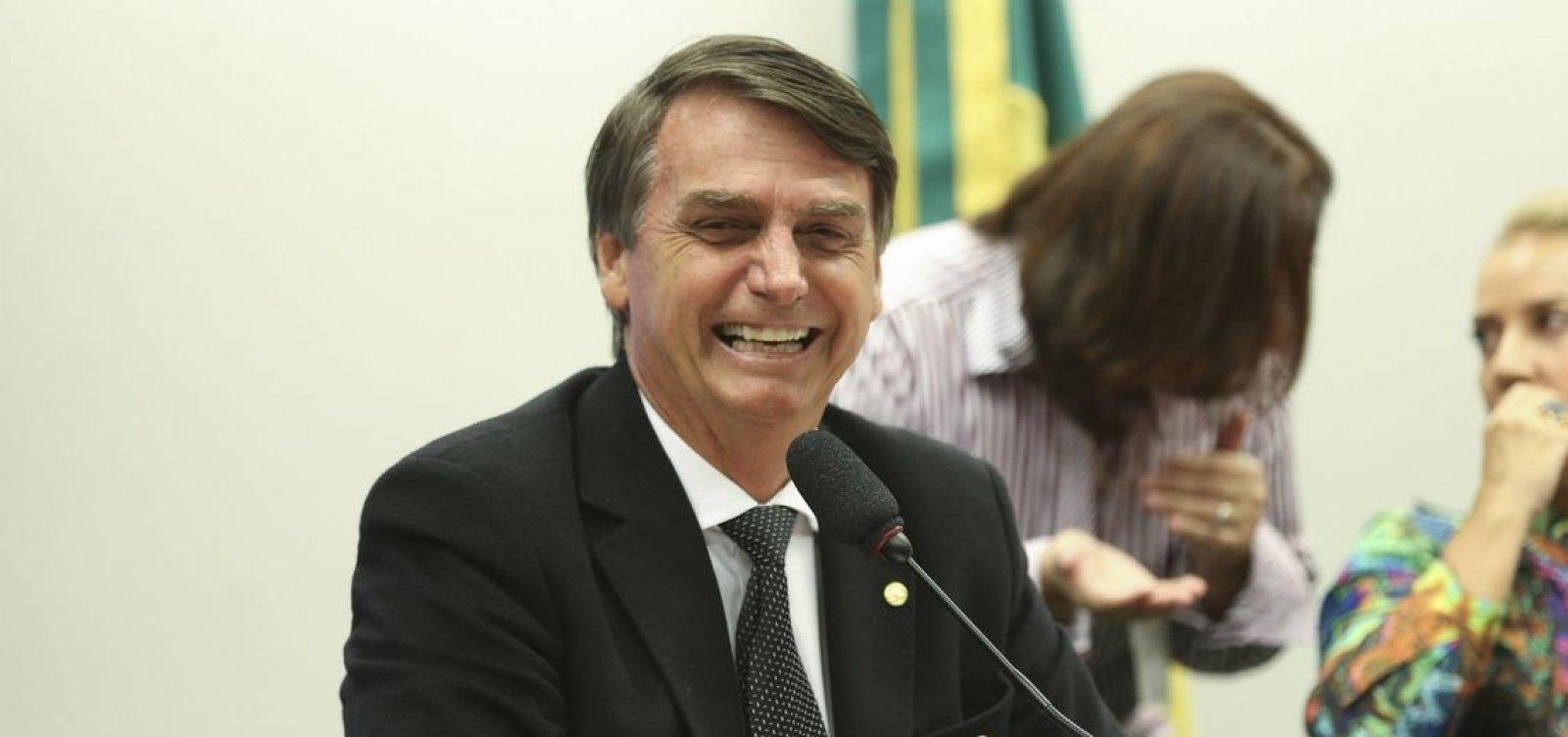 Bolsonaro diz confiar na vitória em primeiro turno