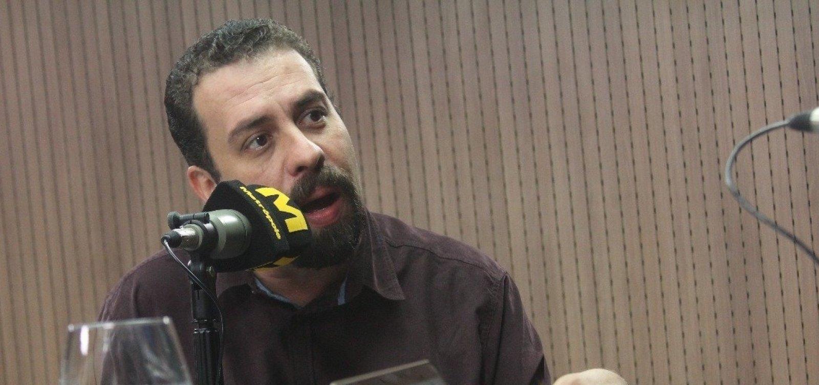 Judiciário tinha que moralizar 'o próprio quintal', critica Boulos