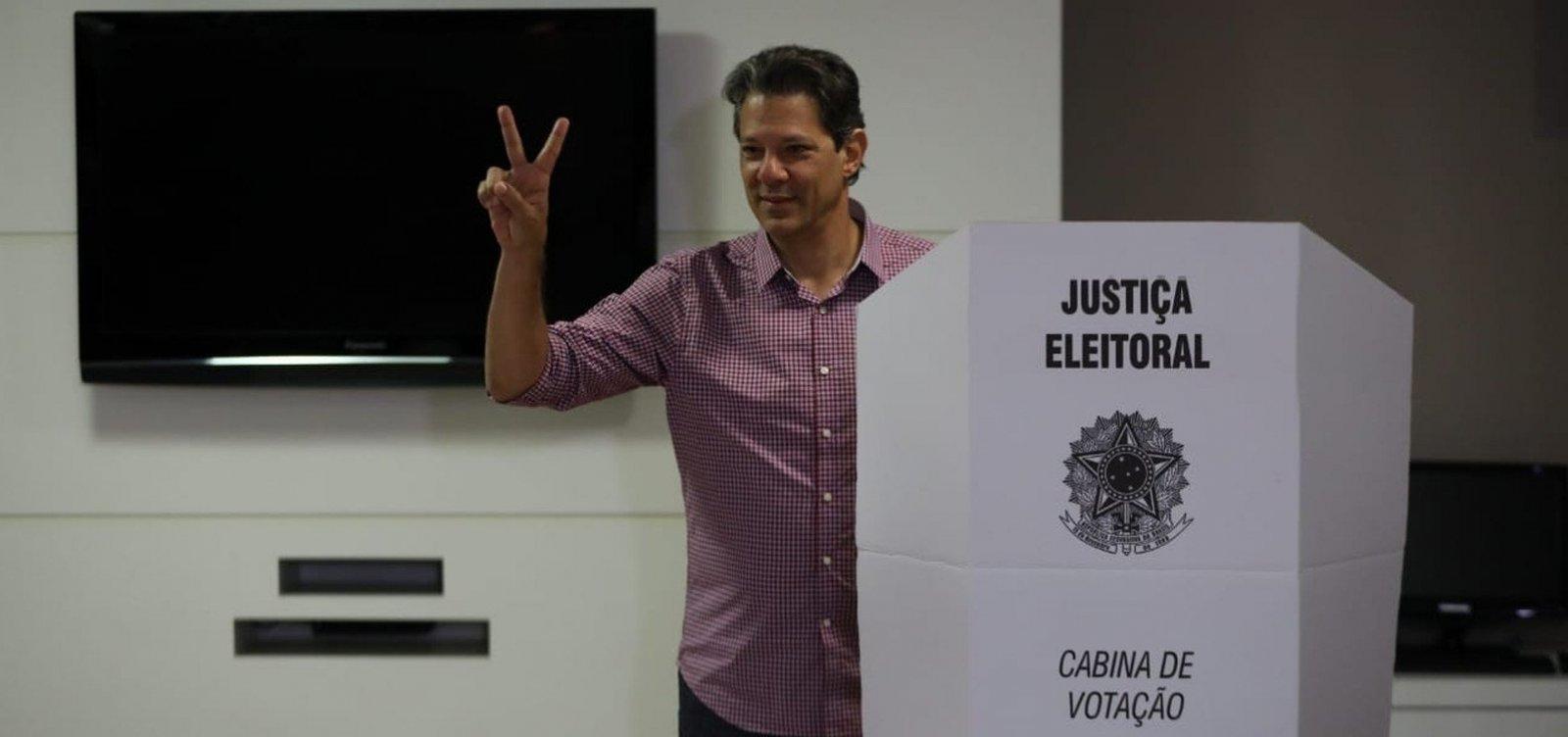 Haddad diz que vai felicitar 'quem quer que seja eleito'