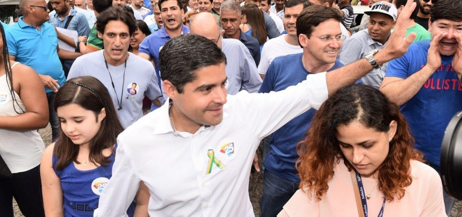 ACM Neto prevê 2º turno entre Haddad e Bolsonaro