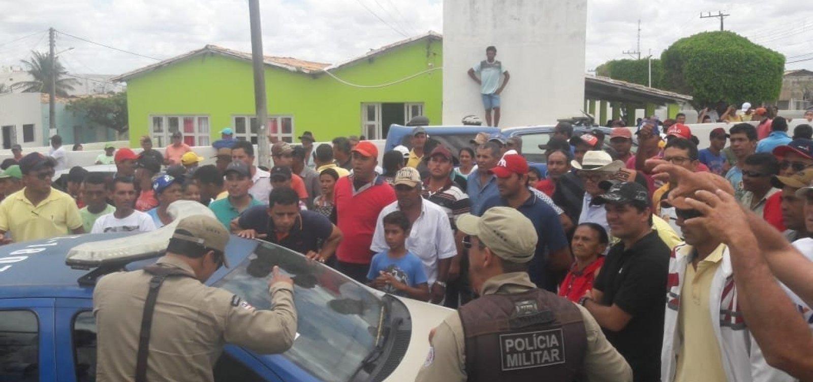 Candidatos são presos por crime eleitoral no interior do estado