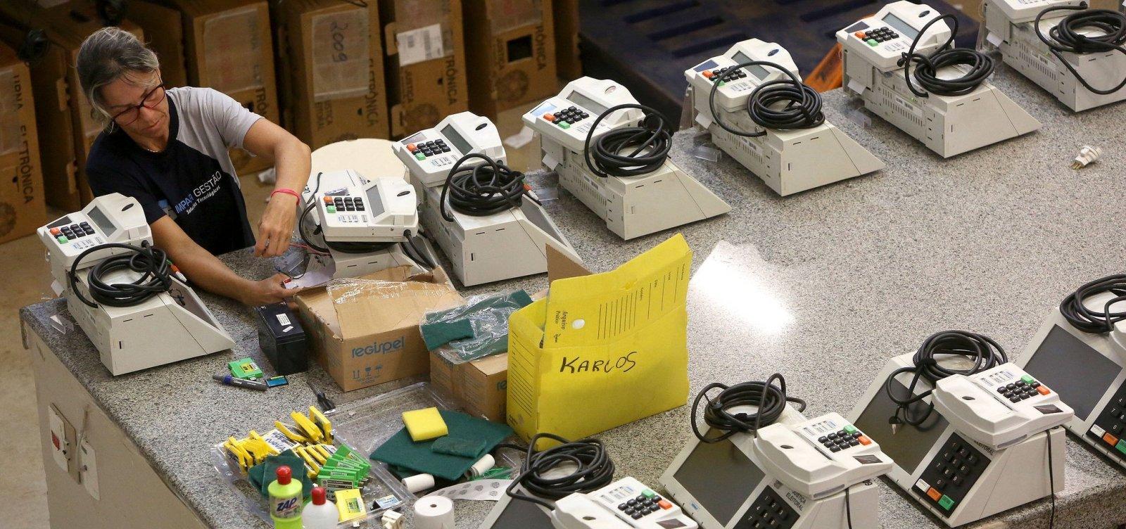 TSE substitui 310 urnas com problemas em todo o Brasil