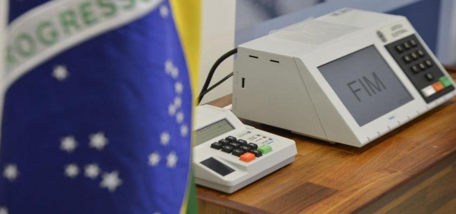Quase 200 casos de crimes eleitorais foram registrados até meio-dia