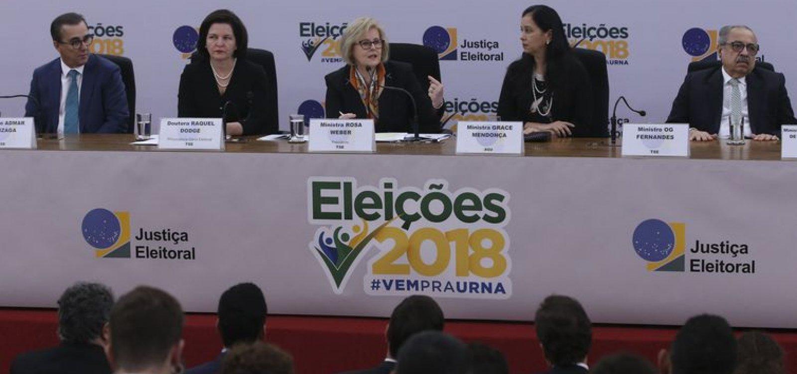 Presidente do Tribunal Superior Eleitoral nega fraude em urnas: 'Total confiança'