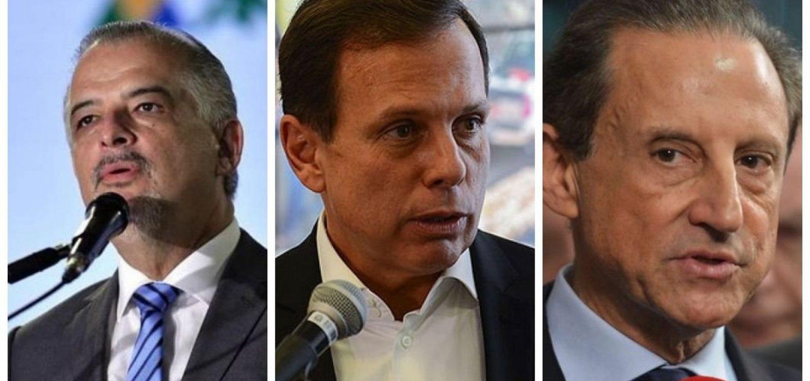 SP: Dória vai ao segundo turno contra Skaf ou França, diz boca de urna do Ibope