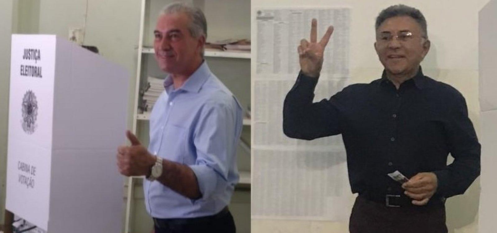 MS: Reinaldo Azambuja e Juiz Odilon vão para o segundo turno pelo governo