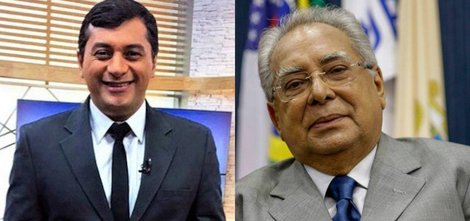 AM: Wilson Lima e Amazonino Mendes vão para o segundo turno pelo governo