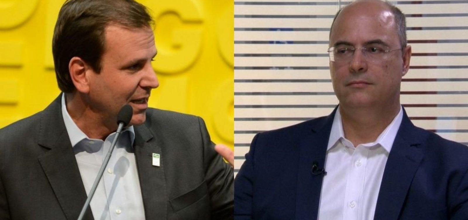 RJ: Witzel e Paes vão para o segundo turno pelo governo