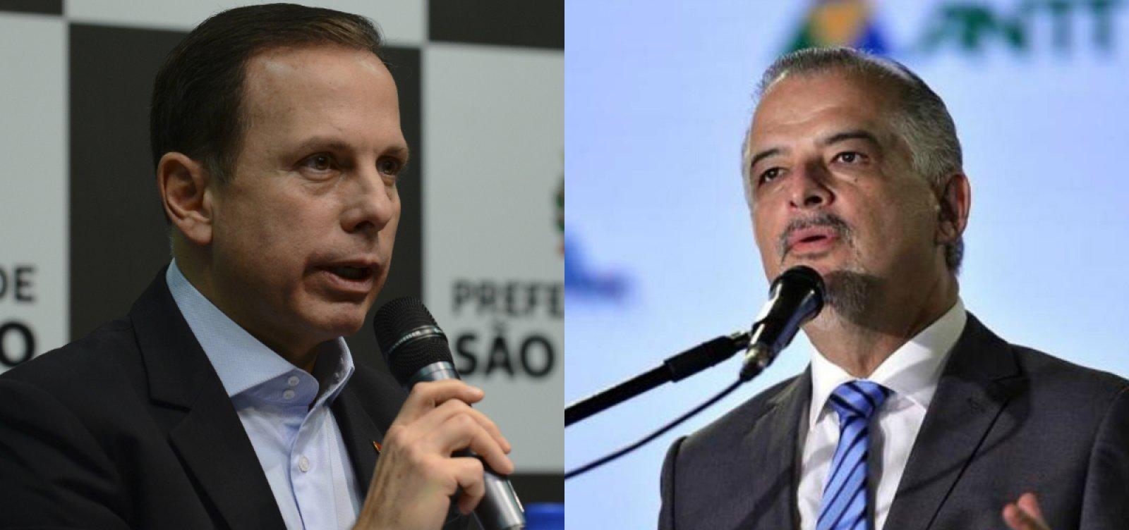 SP: Doria e Marcio França vão para o segundo turno pelo governo