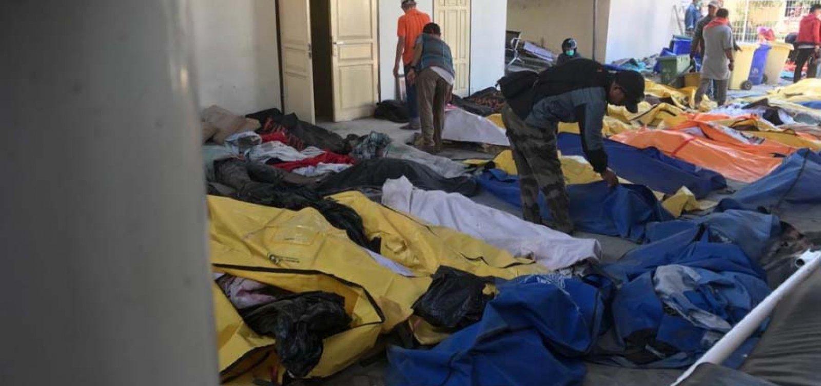 Número de mortos em terremoto e tsunami na Indonésia sobe para 1.948