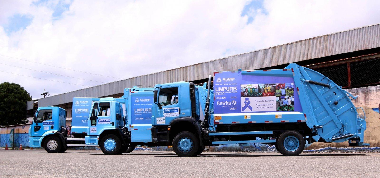 Limpurb registra redução de 34,62% em lixo descartado durante eleições