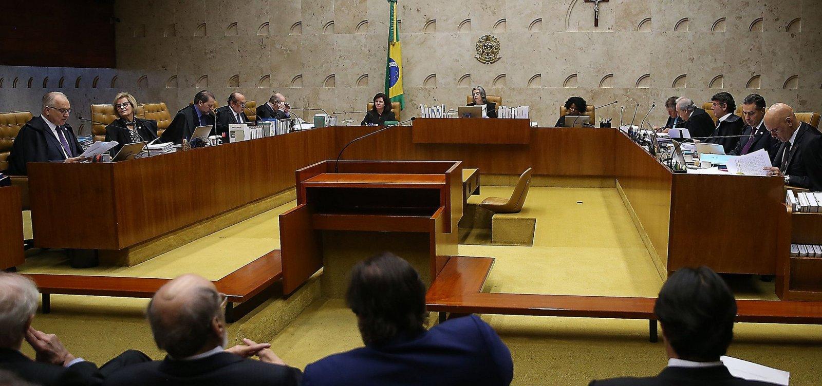 STF quer acordo com presidente para garantir governabilidade