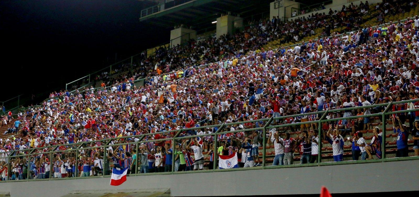 Bahia anuncia promoção na venda de ingressos para jogo contra o Paraná
