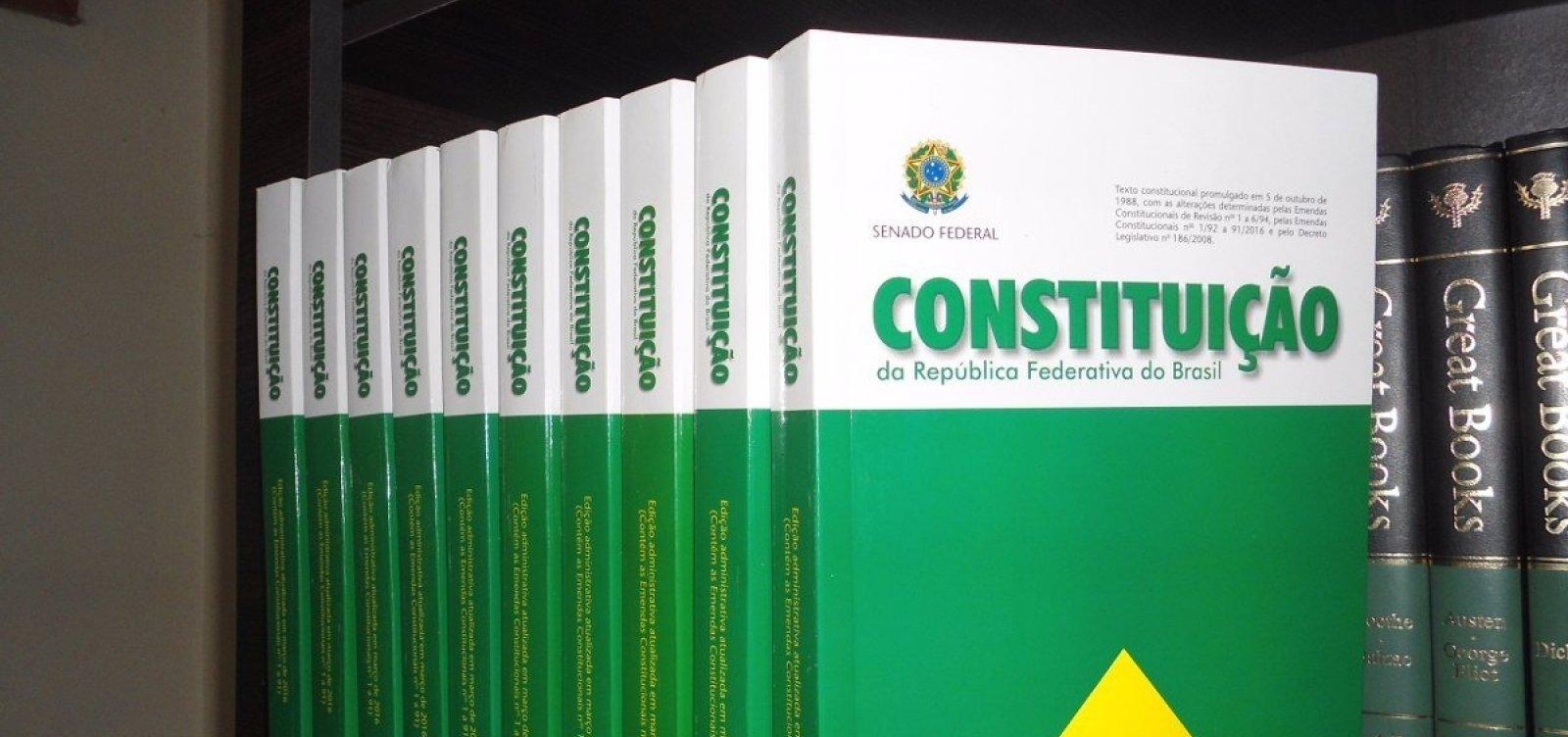 Bolsonaro e Haddad descartam convocar nova Constituinte