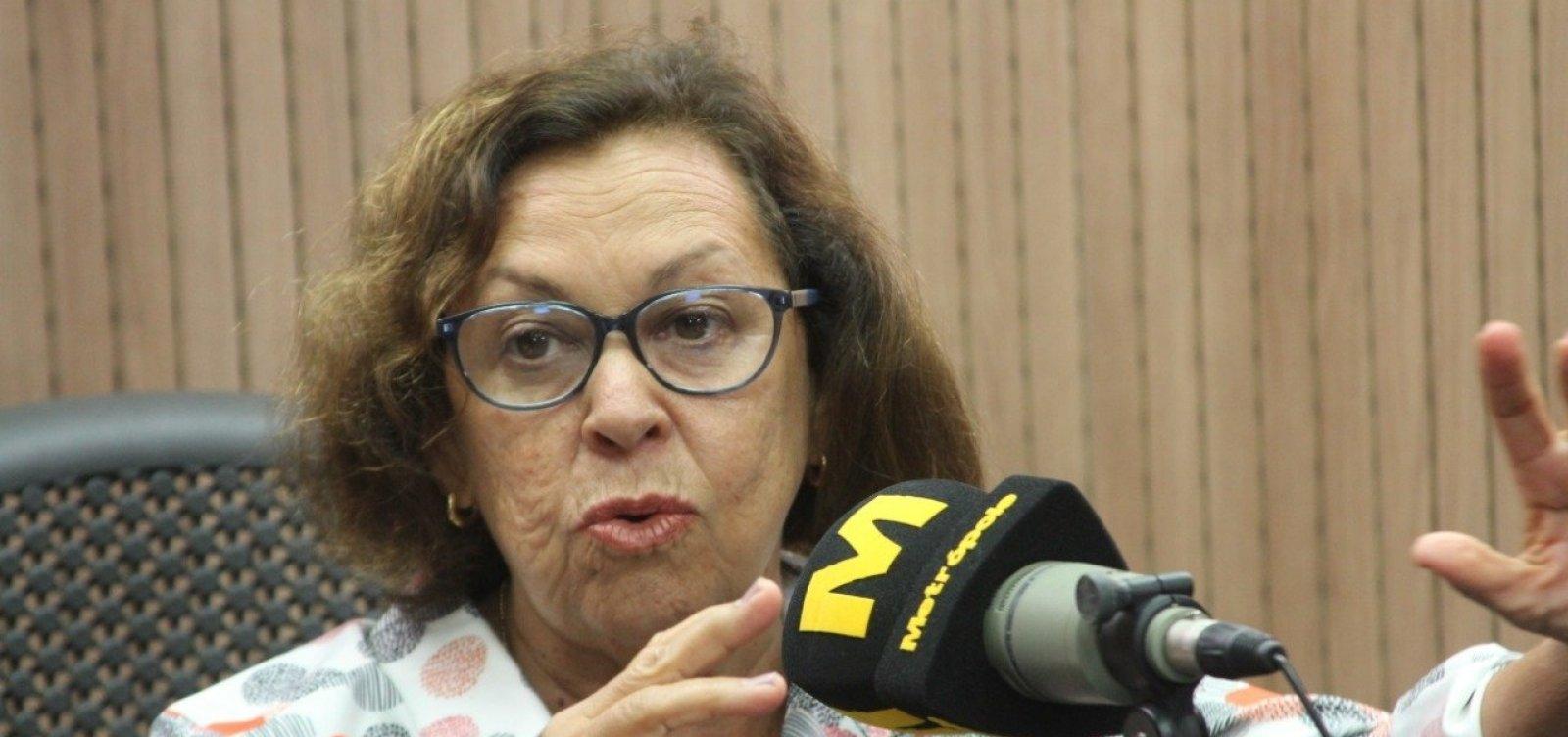 'Nem disponível, nem indisponível', diz Lídice sobre candidatura à prefeitura de Salvador