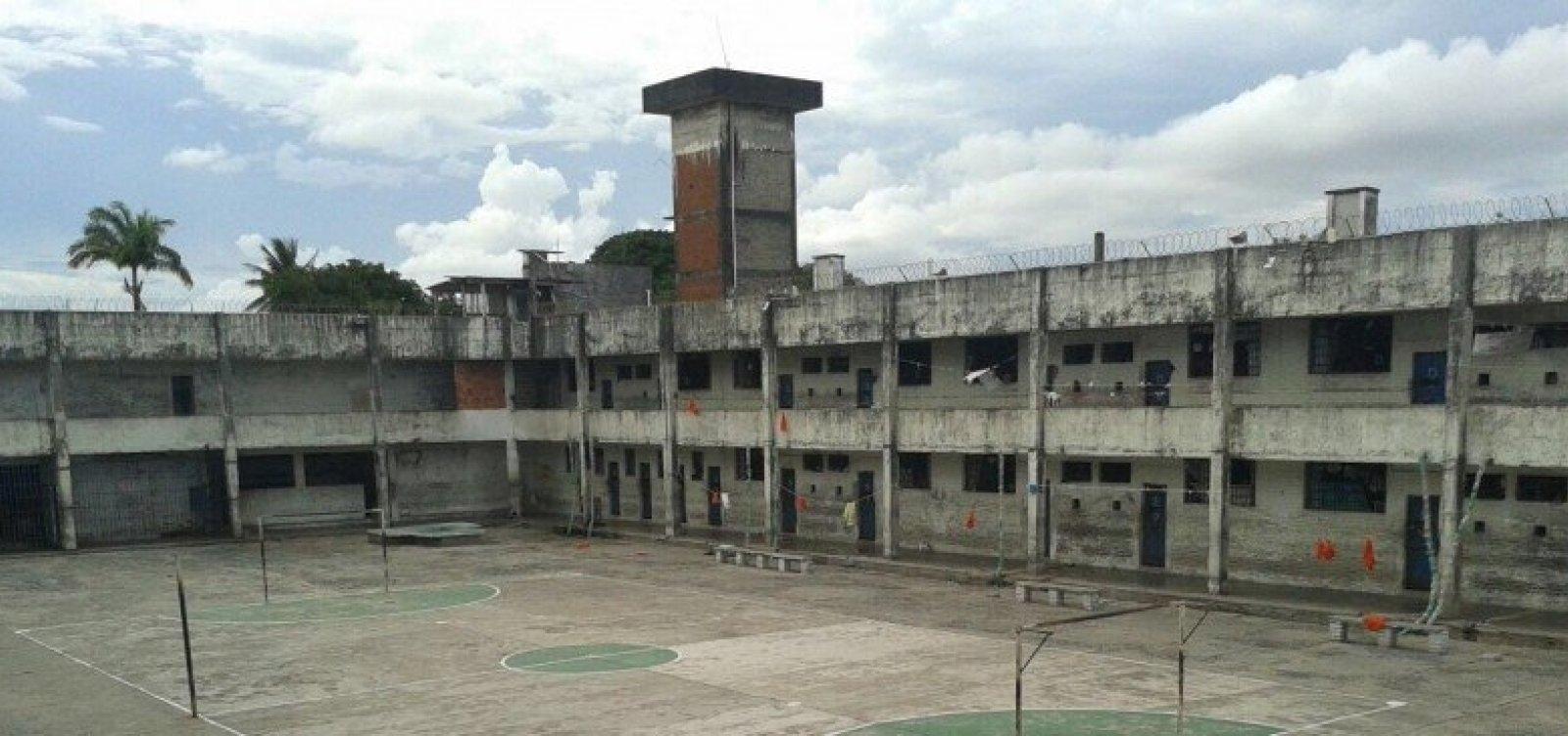 Polícia recaptura três detentos que fugiram do Presídio Salvador