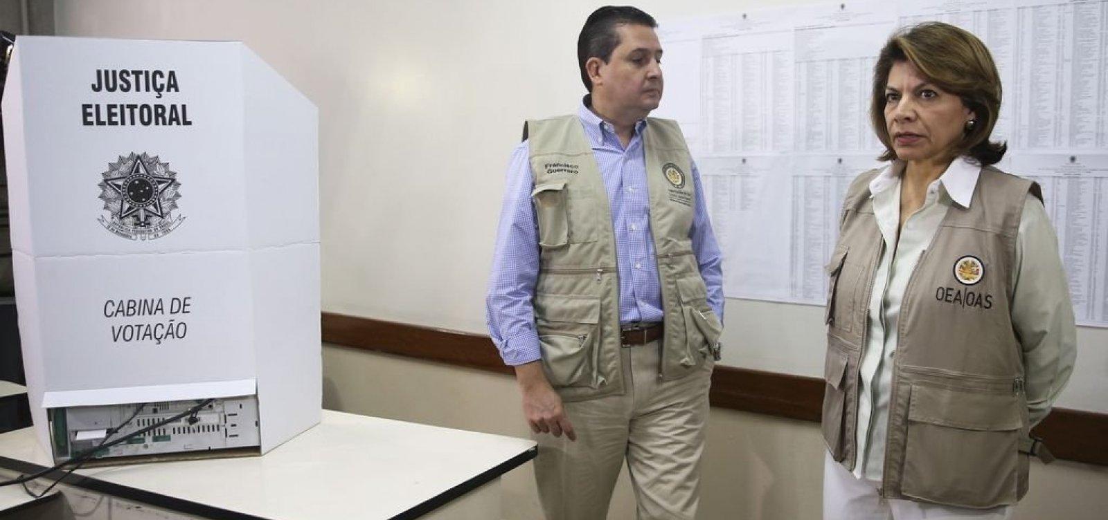 OEA destaca agressividade das eleições