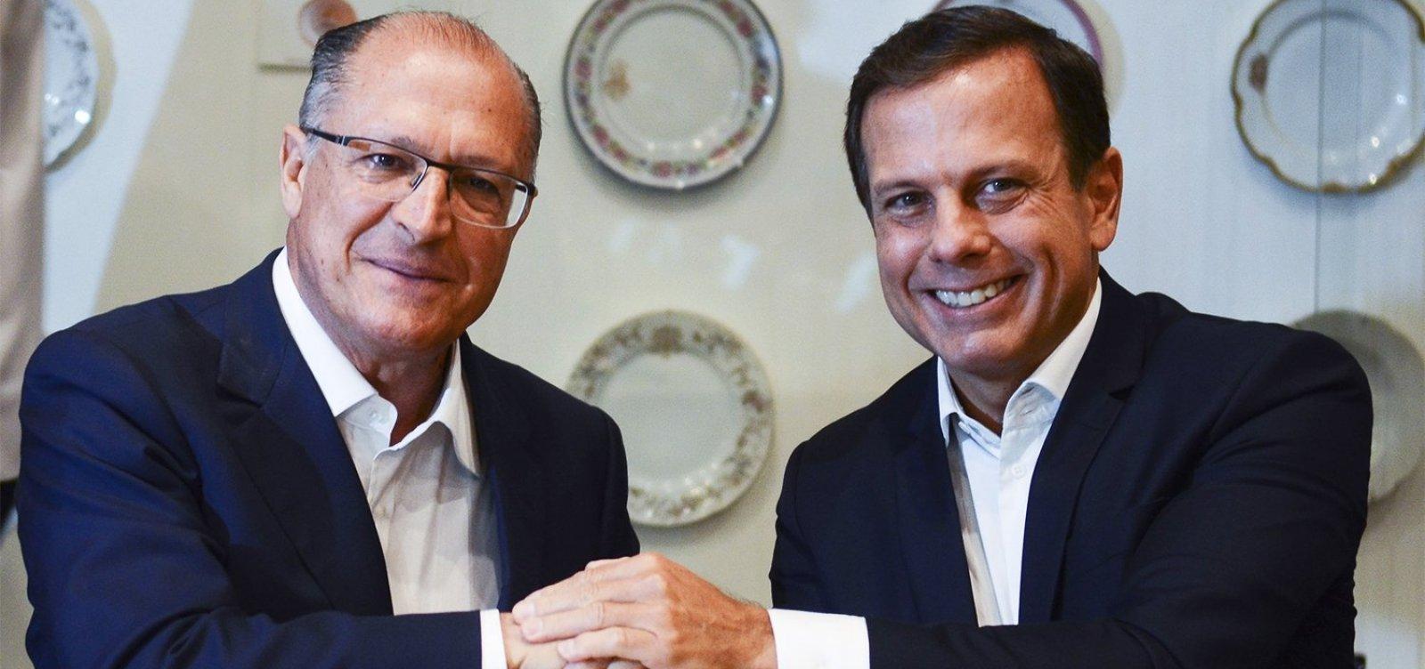 Em reunião do PSDB, Alckmin insinua que Doria é traidor e covarde