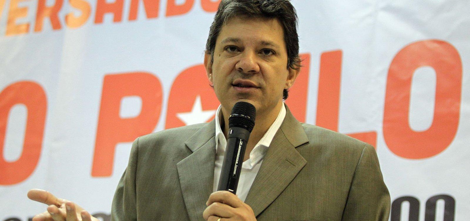 Aliados querem que Haddad incorpore proposta de Alckmin