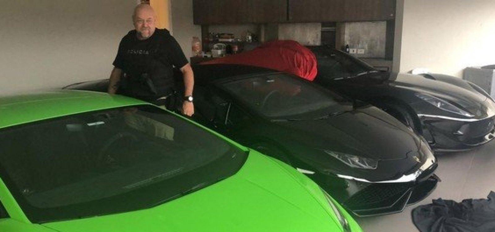 Carros de luxo são apreendidos em operação contra fraude bancária em SP