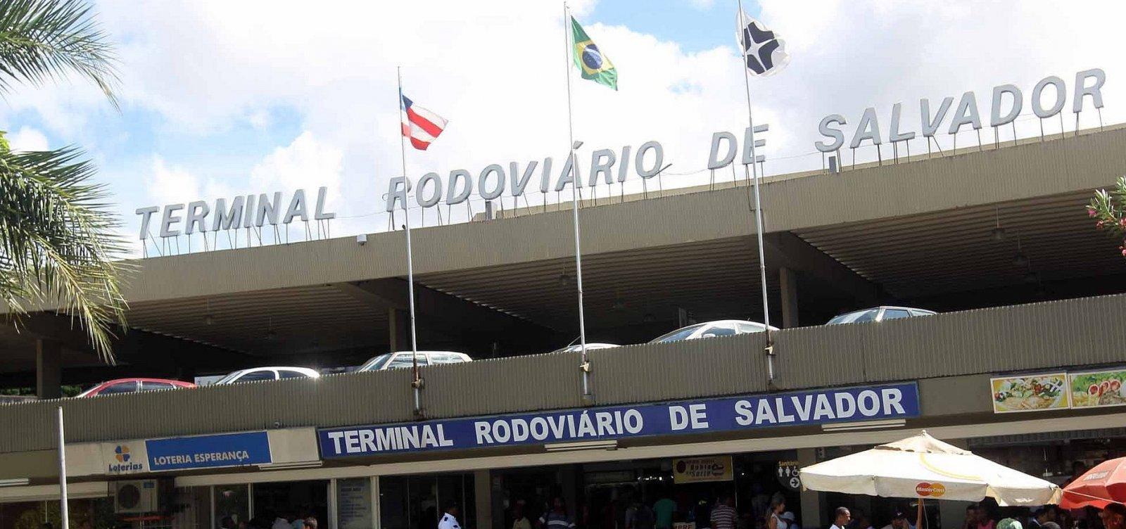 Rodoviária de Salvador ganha 150 horários extras em feriado prolongado