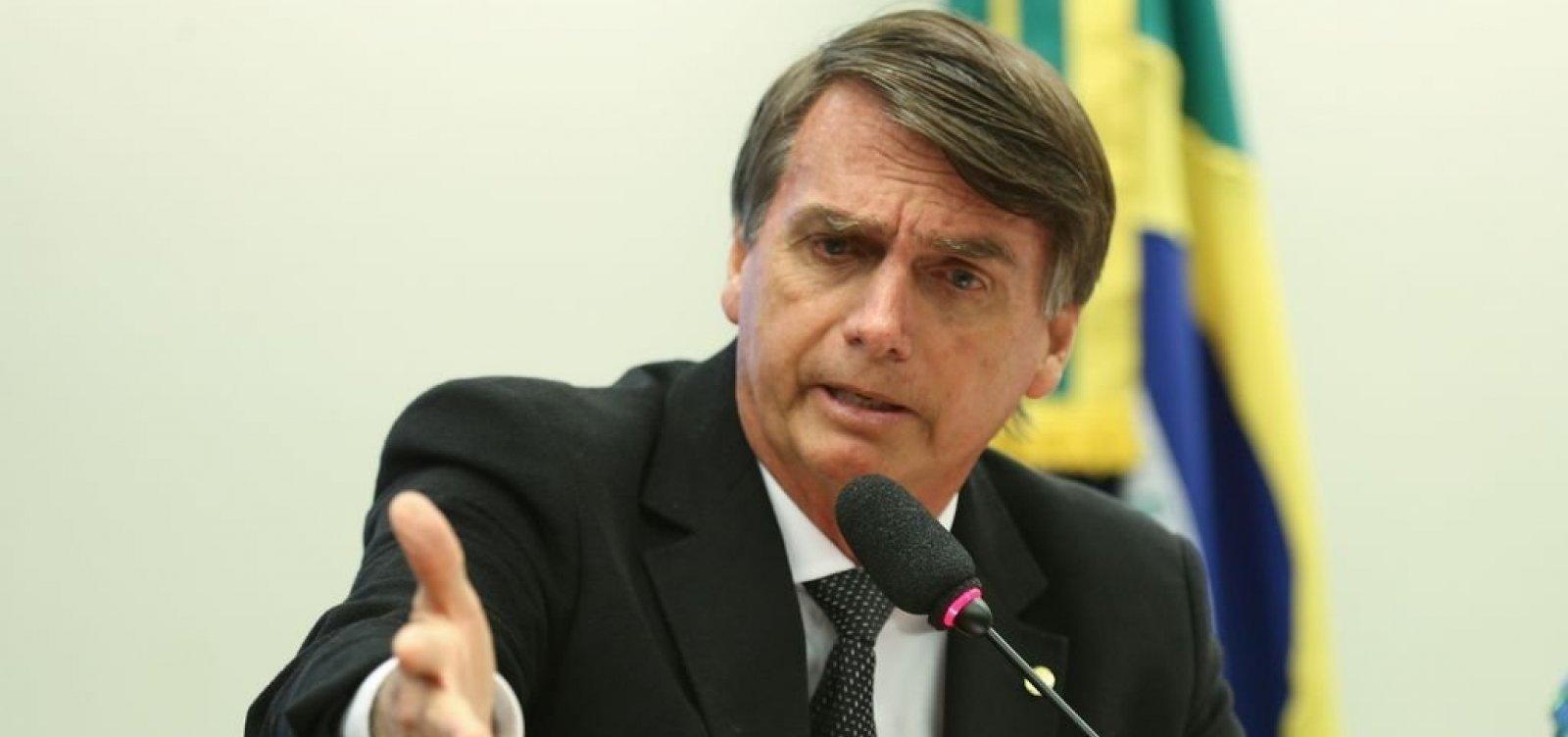 Bolsonaro provoca Haddad: 'Sua hora vai chegar, marmita de corrupto preso'