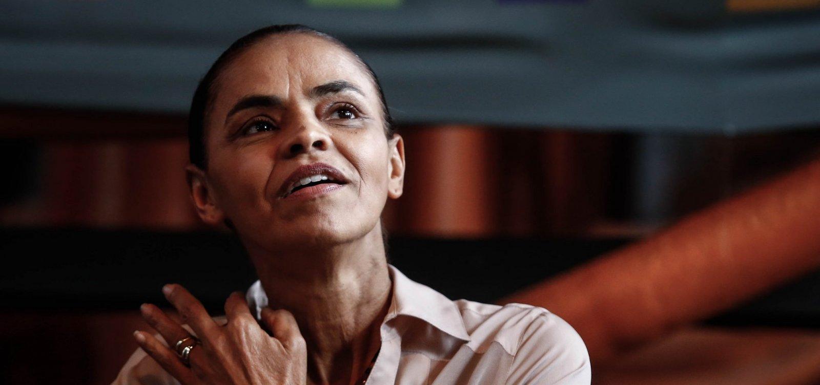 Partido de Marina Silva recomenda 'nenhum voto' em Bolsonaro