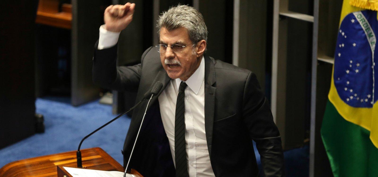 Derrotado após 24 anos, Jucá diz que 'tivemos a crucificação dos políticos'