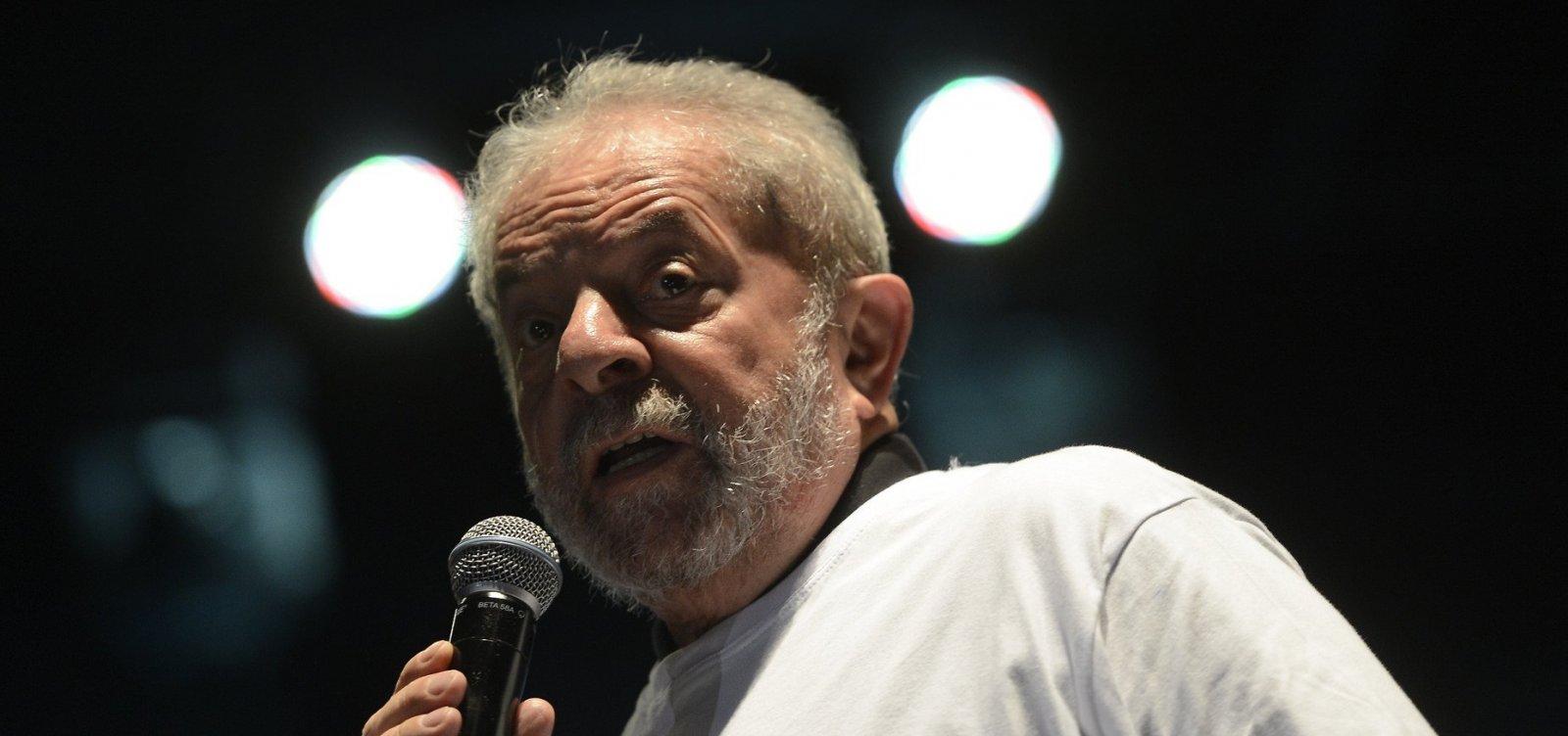 'É maluquice', diz Lula sobre apelos para Haddad renunciar e Ciro concorrer