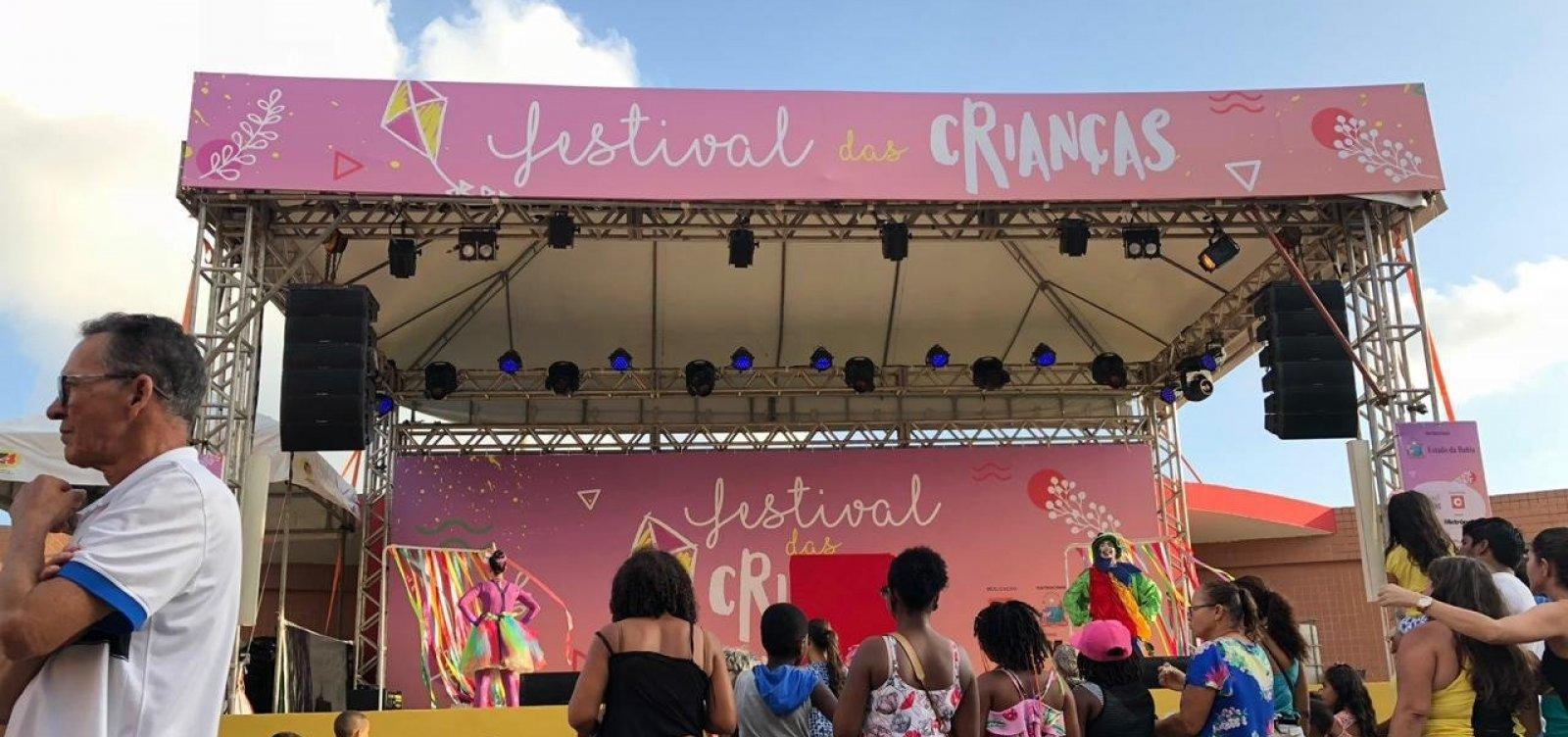 Negra Cor anima hoje Festival das Crianças; veja programação