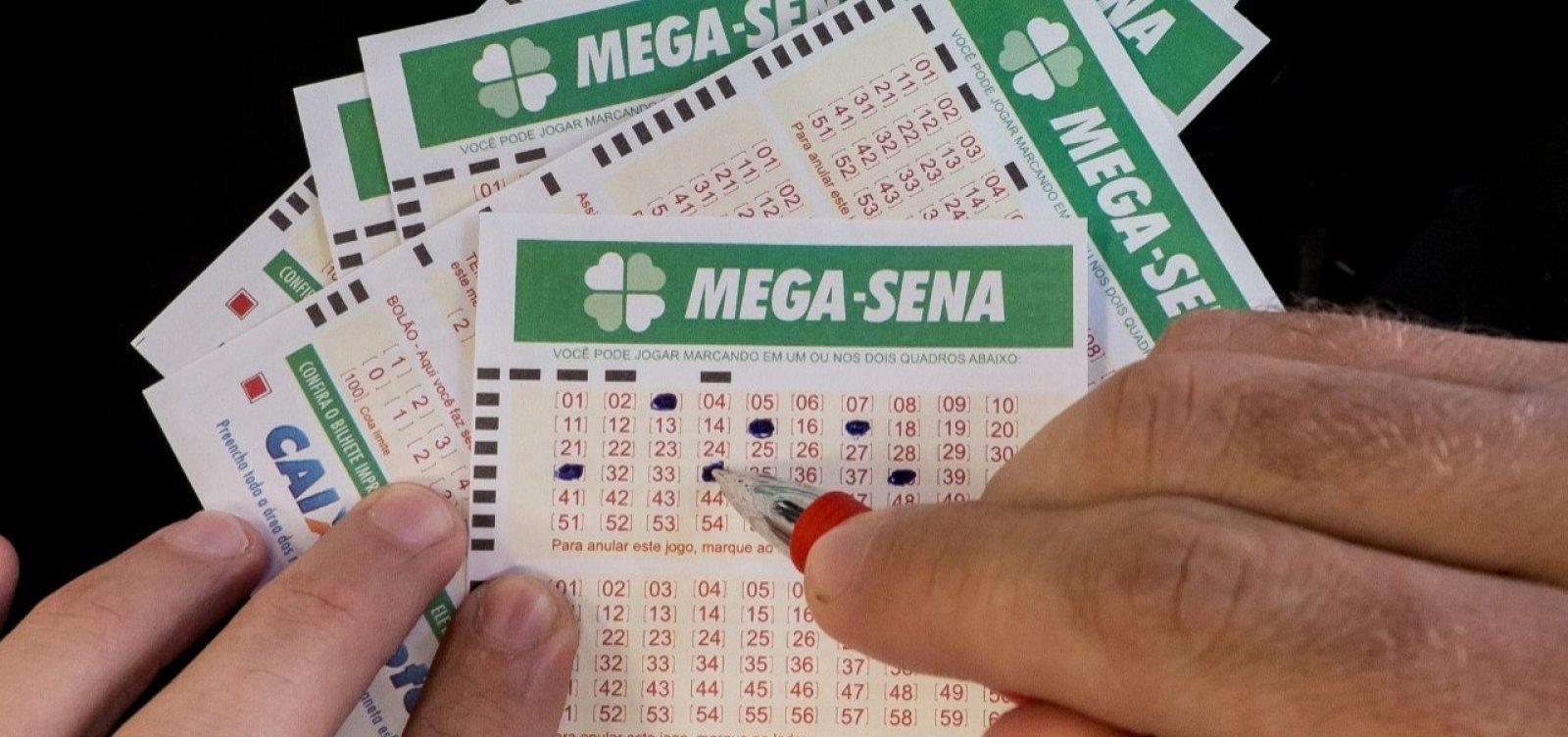 Acumulada, Mega-Sena pode pagar R$ 27 milhões hoje