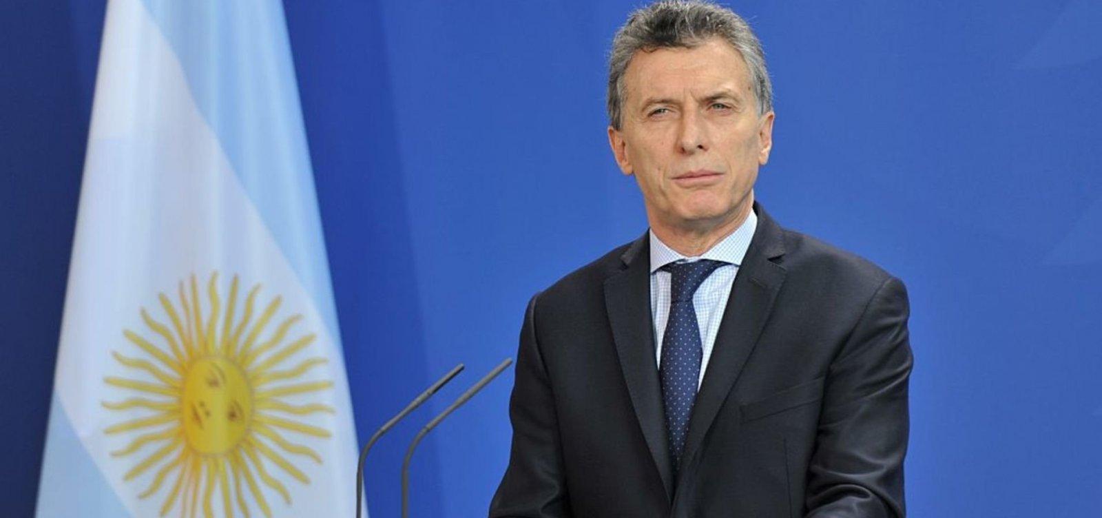 Pesquisas indicam que Macri perdeu até 20% de aprovação na Argentina