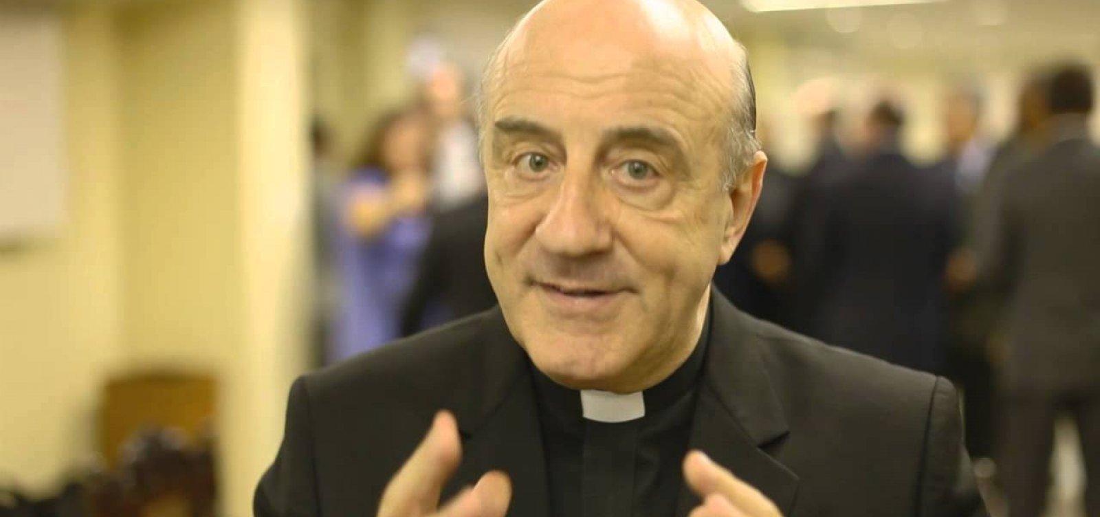 Em carta ao papa Francisco, Dom Murilo coloca cargo à disposição