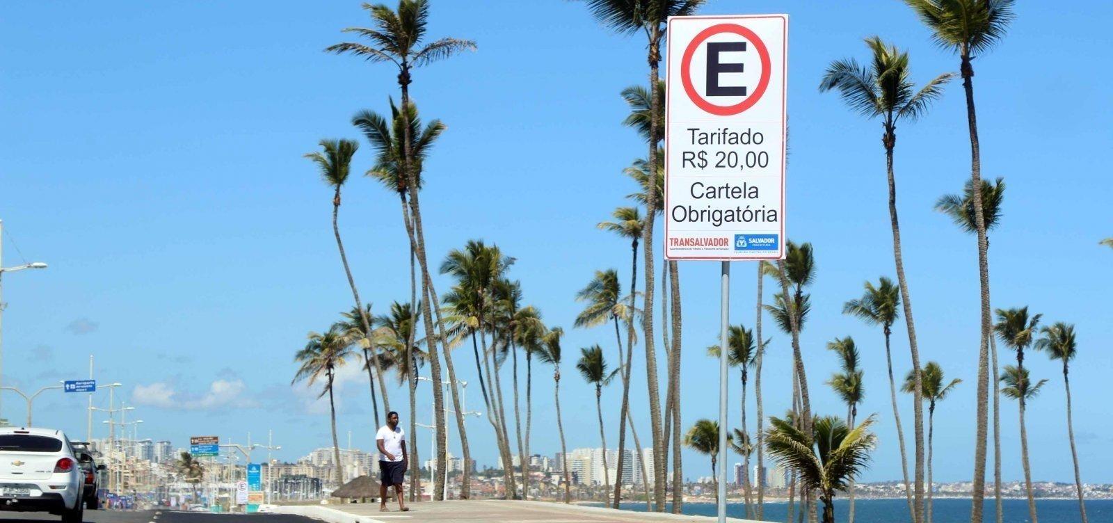 Zona Azul Digital começa a operar hoje em Salvador