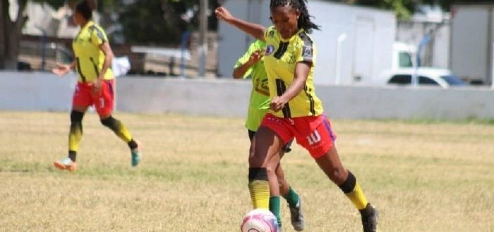 Primeira rodada do Baianão feminino tem goleada de 18 a 0