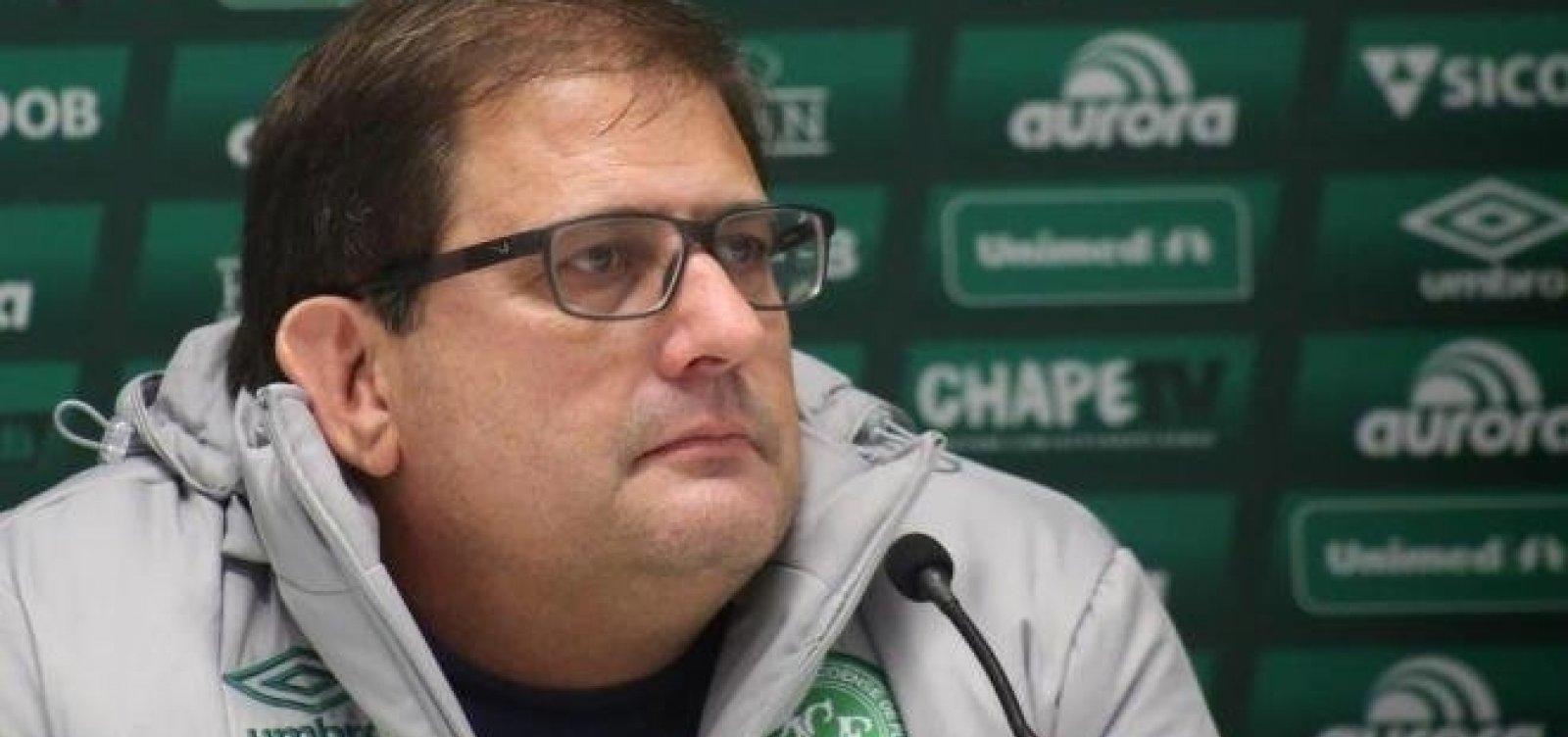 Guto Ferreira é demitido da Chape após derrota para o Vitória