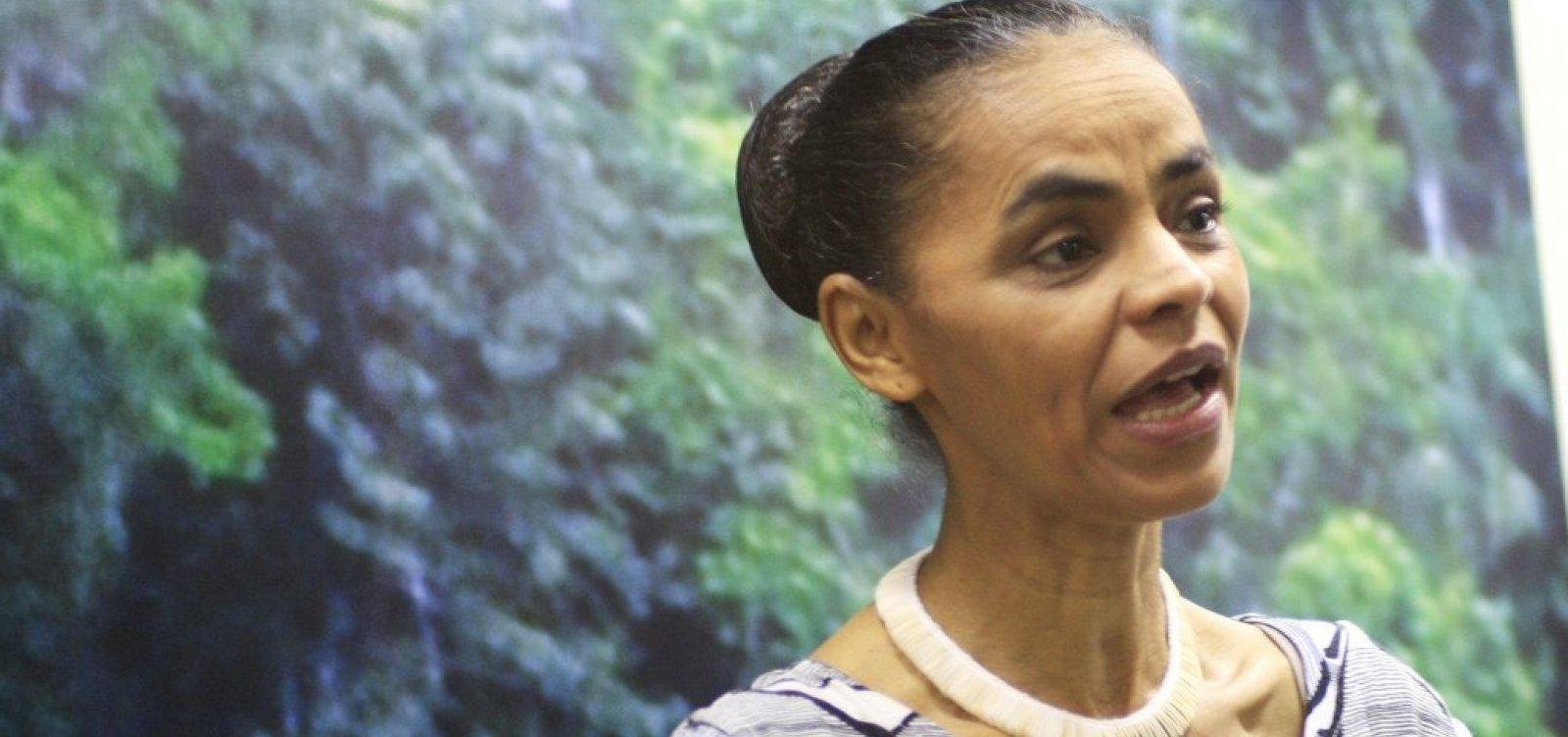 Marina Silva articula para fundir Rede com outros partidos