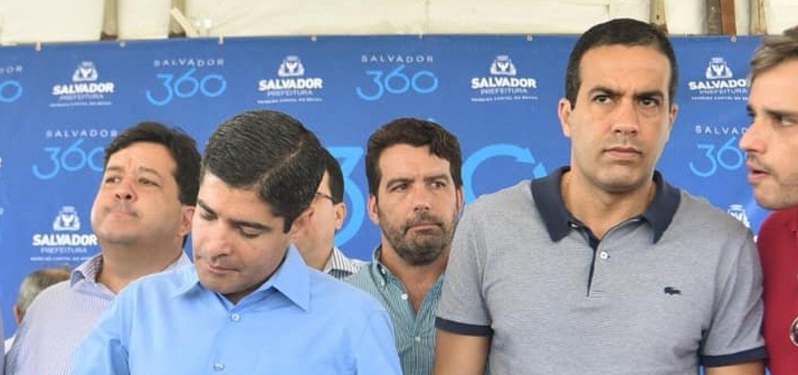 ACM Neto anuncia nova função para vice-prefeito Bruno Reis