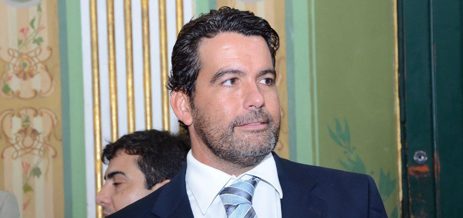 Paulo Magalhães Jr. declara apoio a Geraldo Júnior para presidência da Câmara